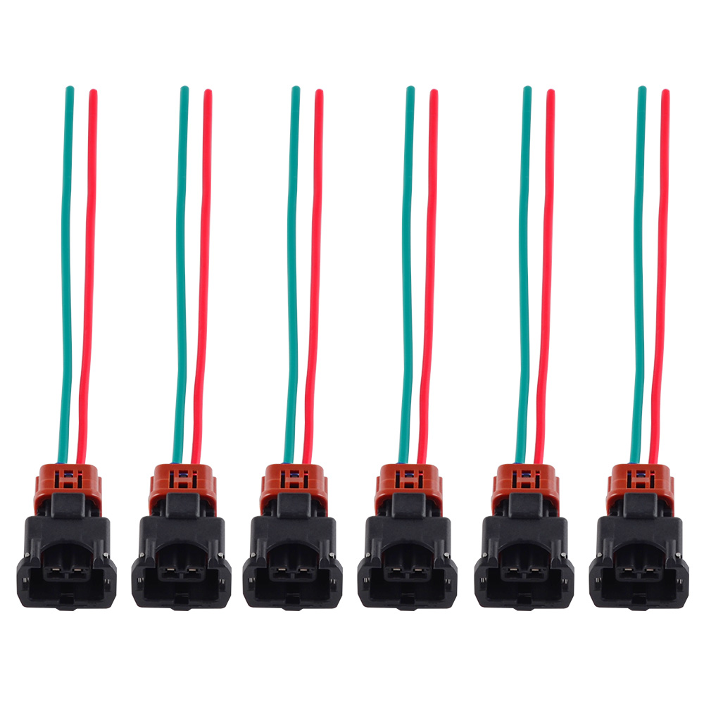 wrg 8282] 1990 300zx wire harness6x fuel injector connector wiring harness for nissan 300zx twin turbo 1990 1994