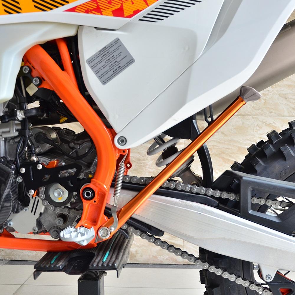 Warp 9 Kickstand SuperMoto Orange for KTM 500 EXC 2012-2016